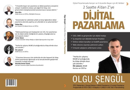 Dijital Pazarlama Kitabı Kapağı