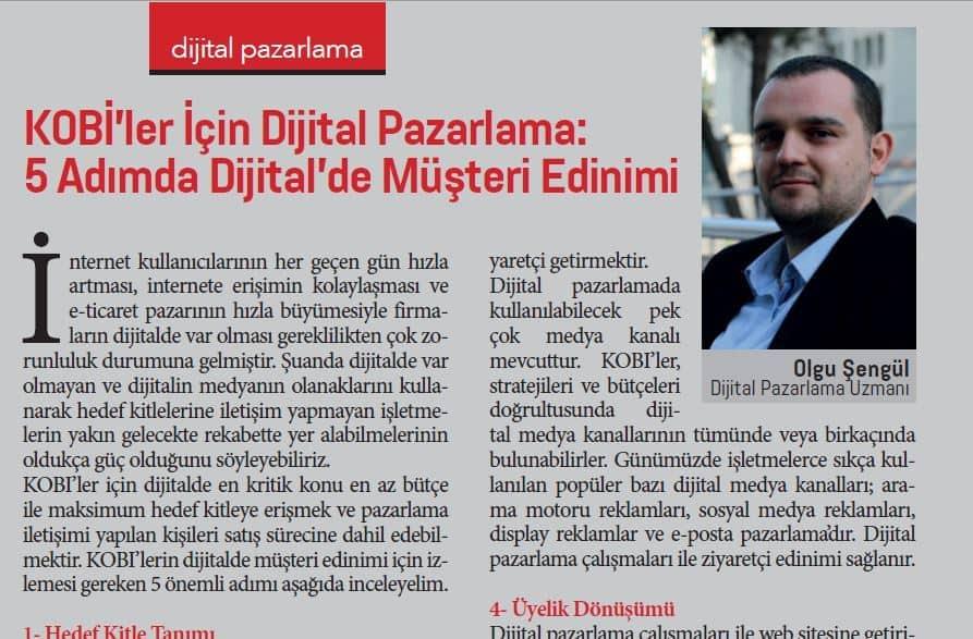 Ekonomix Dergisi Dijital Pazarlama Kitabı
