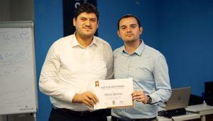 Dijital Pazarlama Eğitimi katılımcı Mesut Demirel Sertifika