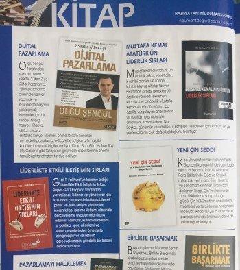 Capital Dergisi Dijital Pazarlama Kitabı