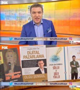 İsmail Küçük Kaya Fox TV Çalar Saat Dijital Pazarlama Kitabı
